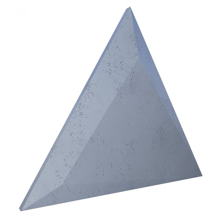 VHCT Panel 3d beton architektoniczny Triangle