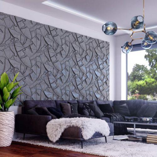 PB34 BOTANICAL Beton architektoniczny panel 3D