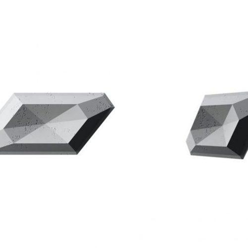 PB02 DIAMENT Beton architektoniczny panel 3D