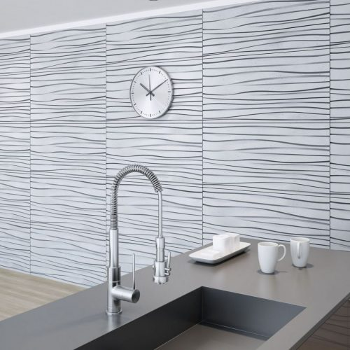 PB03 FALA Beton architektoniczny panel 3D