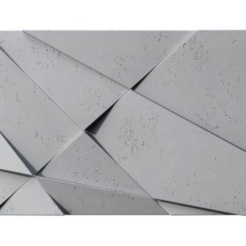 PB05 KRYSZTAŁ Beton architektoniczny panel 3D