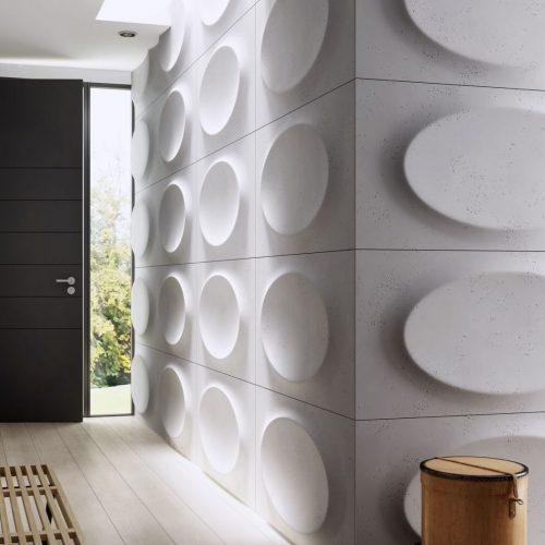 PB08 ELIPSA Beton architektoniczny panel 3D