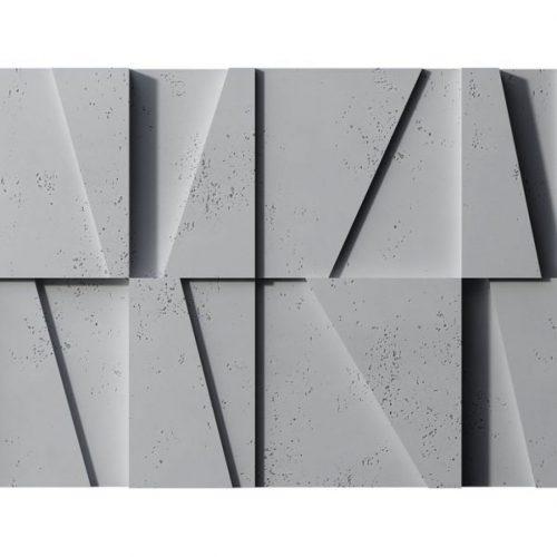 PB09 MOZAIKA Beton architektoniczny panel 3D