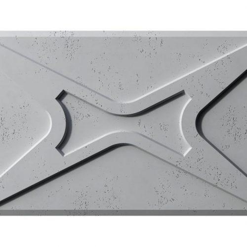 PB17 MODUŁ X Beton architektoniczny panel 3D