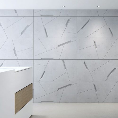 PB18 SPACE Beton architektoniczny panel 3D