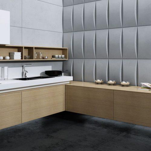 PB20 BLOK Beton architektoniczny panel 3D