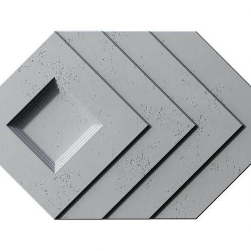 PB21 SLAB Beton architektoniczny panel 3D