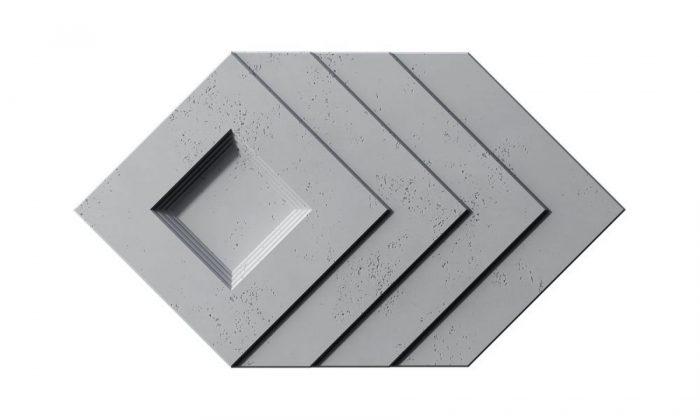 VHCT PB21 SLAB panel 3d z betonu architektonicznego