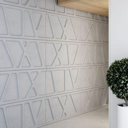 PB24 MODUŁ W Beton architektoniczny panel 3D