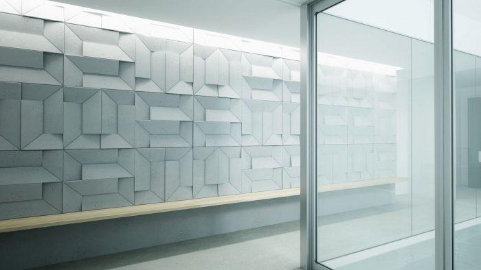 Centrum Betonu Architektonicznego ściana panele 3d VHCT PB26 Ori