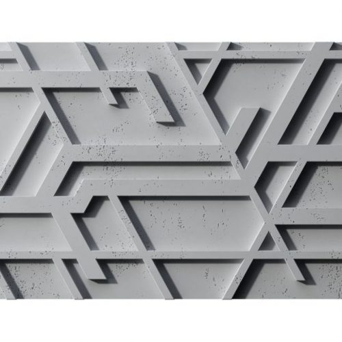 PB27 KOR Beton architektoniczny panel 3D