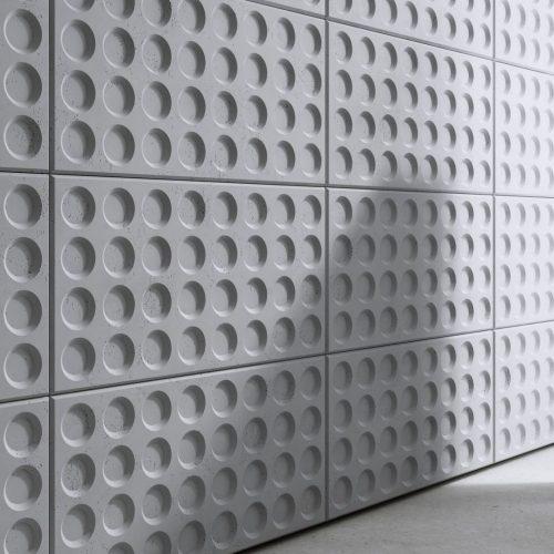 PB28 GRID Beton architektoniczny panel 3D