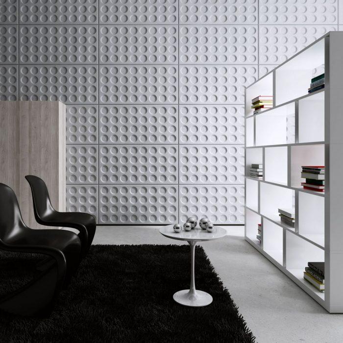 Centrum Betonu Architektonicznego Panele 3d GRID realizacja u klienta