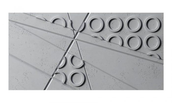 VHCT panele 3d GRAF z betonu architektonicznego