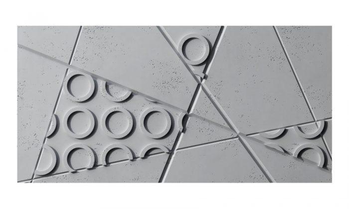Centrum Betonu Architektonicznego Panele 3d PB29 GRAF