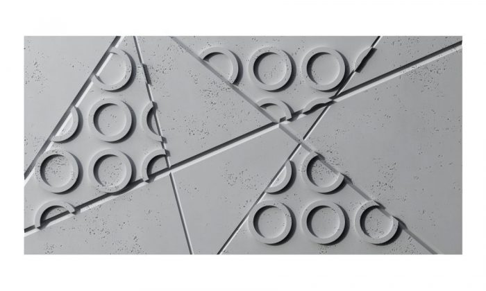 VHCT PB29 GRAF Panel 3d z betonu