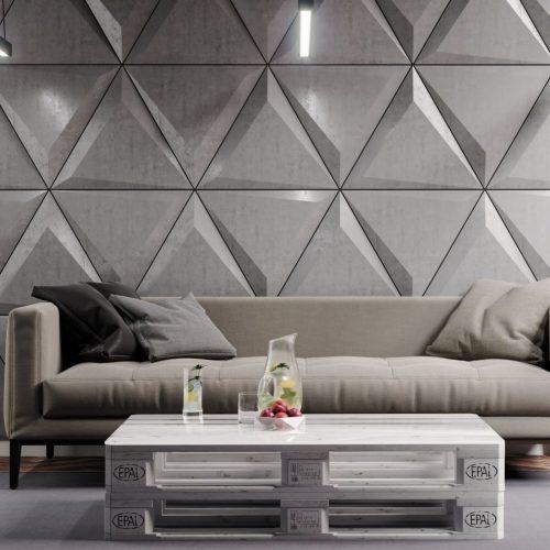 PB36 TRIANGLE Beton architektoniczny panel 3D
