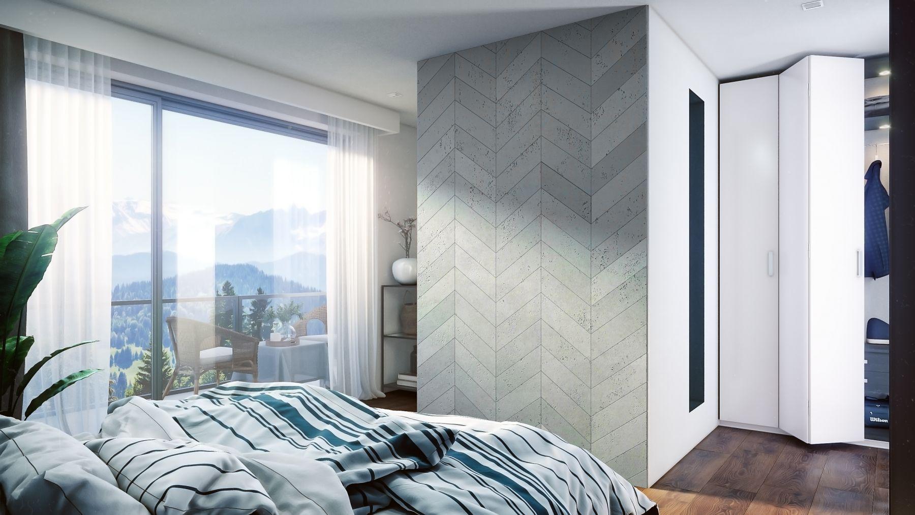 ściana z paneli 3d PB35 VHCT Centrum Betonu Architektonicznego