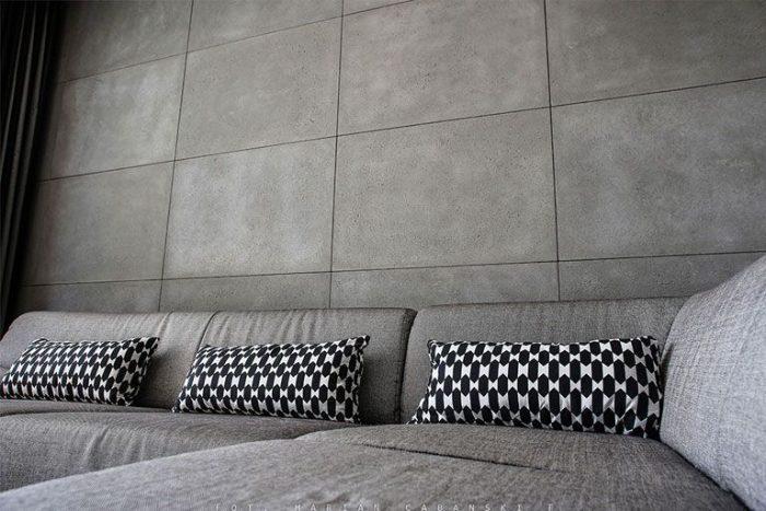 Płyta ścienna z betonu architektonicznego Centrum Betonu Architektonicznego szary
