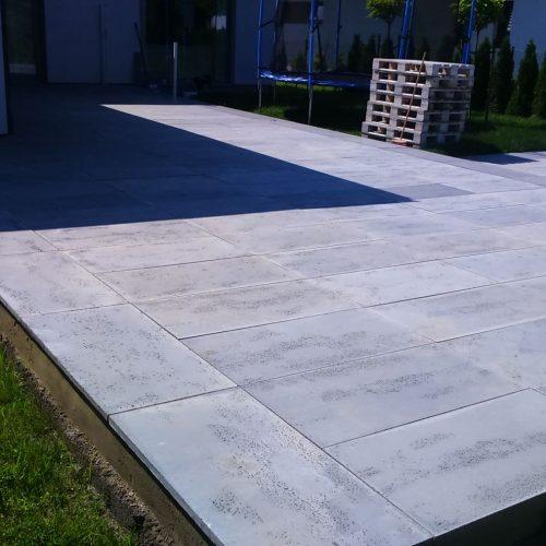 Płyta tarasowa z betonu architektonicznego, 60X60