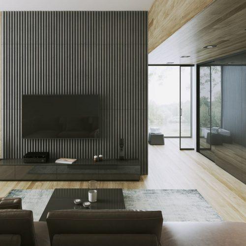PB41 LAMEL Beton architektoniczny panel 3D