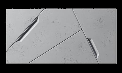 PB18 SPACE Panele 3d z betonu Centrum Betonu Architektonicznego
