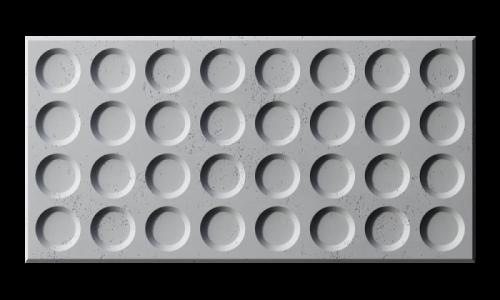 Panel 3d beton architektoniczny PB28 GRID