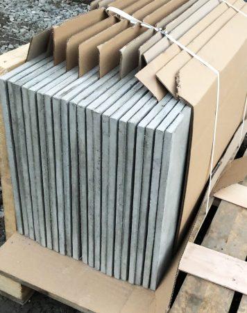Gotowa paczka płyt z betonu architektonicznego